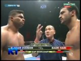 Badr Hari vs Alistair Overeem k1 WGP 2009