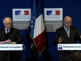 Point presse vaccination grippe A H1N1 18.12.09