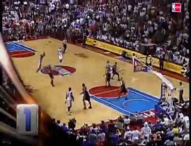 Chauncey Billups' Pistons Playoffs Highlights