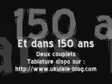 Raphaël - Et dans 150 ans Ukulélé