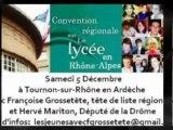 Les Jeunes UMP Rhône-Alpes pour la Convention Régionale