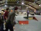 Nadège Ecot skate à Chelles