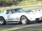 CORVETTE sur circuit Niort - Classic val de sevres 2009