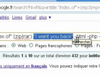 Visionnez les Cours Vidéo de T�l�charger gratuitement des fichier MP3 et AVI gr�ce au moteur de recherche Google