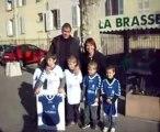 Remise des maillots à l'Ecole des Gentlemens Futsaleurs de l