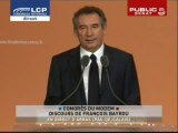 EVENEMENT,Discours de François Bayrou président du MoDem