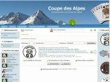 Coupe des Alpes - Tutoriel d'inscription
