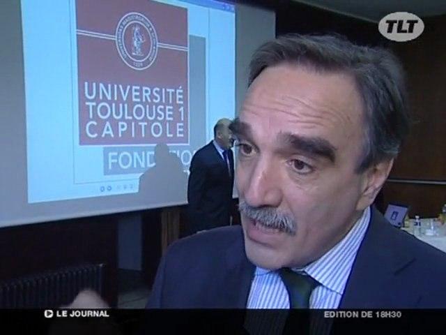 L'Université Toulouse 1 Capitole lance sa fondation