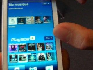 Sony Ericsson Xperia X10 Android