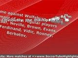 Wolfsburg vs Manchester United UEFA 8/12/2009 - Exciting