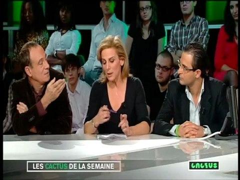Arash Derambarsh à l'émission Cactus 27/11/2009