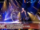 X Factor 07/12/09 : Cyrielle - J'envoie valser