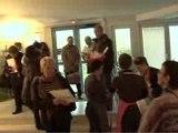 Arrivée des blogueurs - Salon du blog culinaire 2009