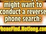 Cell Phone Lookup - Reverse Lookup a Phone Number