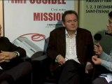 Cap'Com 2009: Itv Thierry Vedel et Richard Collin