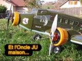 JUNKERS JU-52 militaire - Oncle JU V2 - Avion RC BMI VMAR