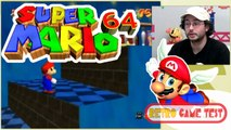 "Super Mario 64 ""Nintendo 64""  Retro Game Test."