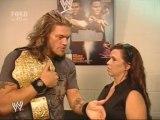 Edge & Vickie backstage - sd 29.06.07