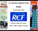 Renaud 11/12/09 RCF Album de la semaine Promo Molly Malone