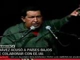 EEUU y paises bajos planean agredir a Venezuela: Chavez