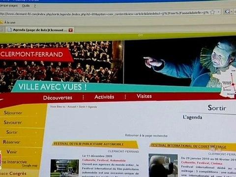 Nouveau site de l'Office de tourisme de Clermont-Ferrand