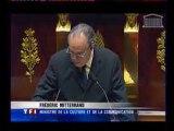 Frédéric Mitterrand invoque Arletty contre le téléchargeme