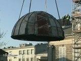 La coupole de l'observatoire Camille Flammarion restaurée
