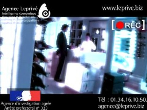 Agence Leprivé - client mystère - vidéo - caméra cachée