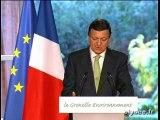 M. Barroso 1ères conclusions Grenelle Environnement