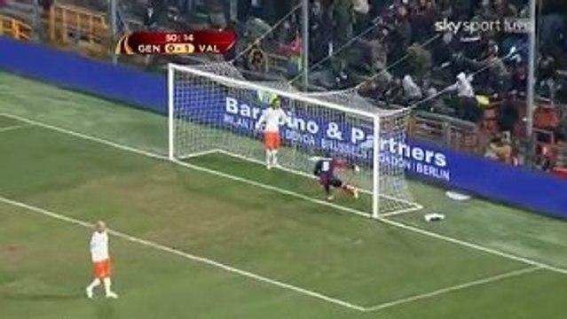 Genoa v Valencia