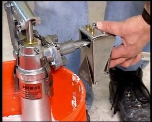 utilisation machine a joint (bazooka) Technimat