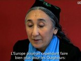 Rebiya Kadeer: A Bruxelles, devant le Parlement européen