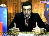 VOEUX SARKOSY 2010 SARKOZY PARODIE OFFICIELLE