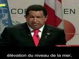 Le discours de Hugo Chavez à Copenhague partie 1