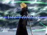 Dissidia : Final Fantasy - Cloud Vs Sephiroth
