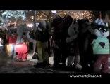 La neige, le marché de Noël et la grande roue de Montelimar
