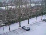 La neige à Epinay sous Sénart