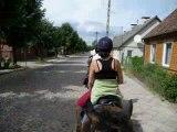 Montage photos de mon séjour en Pologne en août 2008