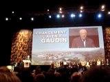 Fernandel Gaudin fait un discours sur l`air de Felicie