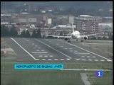 Un atterrissage en pleine tempête à Bilbao