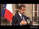 Nicolas Sarkozy: 'Il faut que je me repose