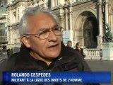 Sans-papiers: manif de RESF à Paris contre les expulsions