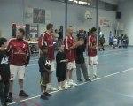 Présentation des équipes pour match Le Mée/Schirrhein Basket