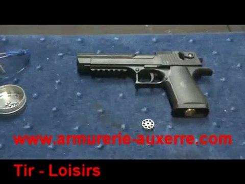 Essai du Desert Eagle Umarex pistolet a plomb Co2