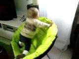 je monte tout seul sur le fauteuil