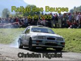Christian Rigollet Rallye des Bauges 2005