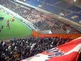 PSG-Grenoble 23/12/09 Virage Auteuil Echange Auteuil-Boulogn