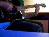 Jack johnson sitting waiting wishing (guitare acousticover)