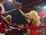 Kelly Kelly Gail Kim & Melina vs Maryse Jillian & Alicia Fox