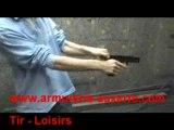 Essai Pistolet Bruni GAP (Réplique Glock) en 9mm PAK